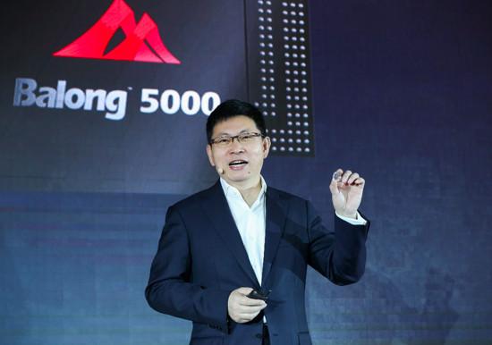 华为全面开启5G时代  发布5G多模终端芯片和商用终端