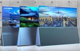 韩国专利局公开了LG三款柔性屏电视 更突出设计感