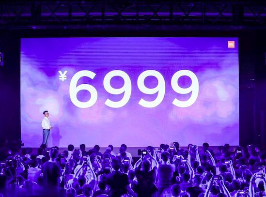 小米壁画电视终于亮相 通体薄至13.9mm售价6999元