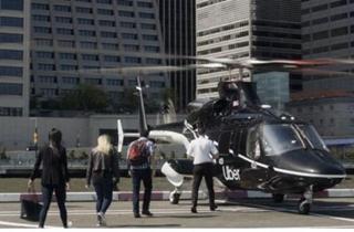"""外媒:Uber在纽约推出了""""打飞的""""服务"""