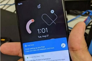 谷歌Pixel 4真机曝光 发布日期尚未确认