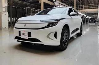 拜騰汽車首輛PP車已正式下線 明年年中開始開始量產交付