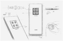 荣耀V30设计图手稿曝光 将后置四摄并采用矩阵式摄像头的设计