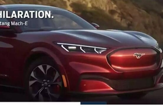 福特Mustang Mach-E曝光 性能秒杀特斯拉?