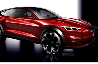 福特发布纯电动SUV Mustang Mach-E 2021年将进入中国