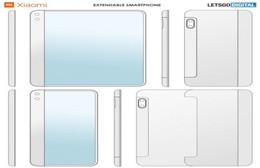 小米伸缩屏智能机专利曝光 包括14个产品图片