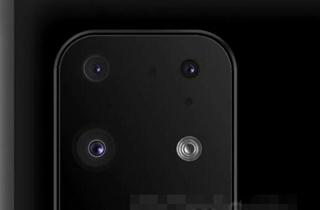三星Galaxy S11+背部渲染图曝光 后置四摄+潜望式摄像头
