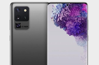 三星Galaxy S20 Ultra渲染图曝光 采用中置打孔曲面屏