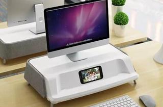 小米有品上架办公显示器增高杀菌消毒台 售价999元