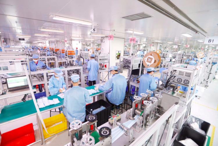 7天自研造出口罩机 比亚迪口罩厂满负荷运转日产达500万只口罩
