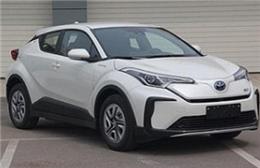 一汽丰田首款纯电动SUV奕泽E擎曝光 百公里能耗为13.1kWh