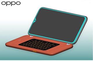 OPPO新专利曝光 可外接QWERTY键盘保护套