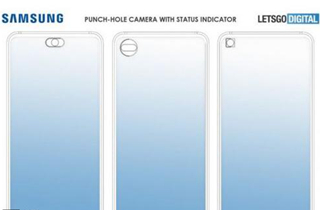 三星手机前摄专利曝光 可减少开孔摄像头突兀感