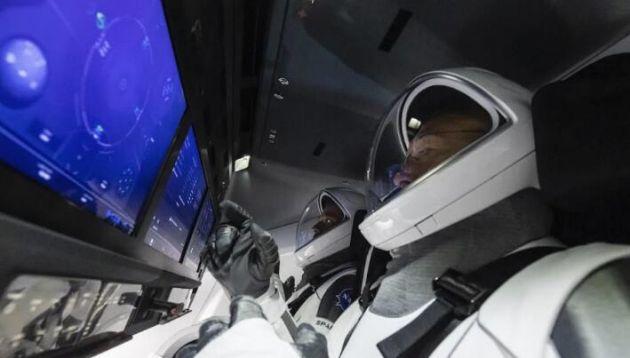 spacex下周首次载人飞行:两名宇航员完成最后一次登船彩排