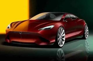 特斯拉新Model S设计图曝光 运动范更足