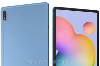 三星 Galaxy Tab S7 Plus渲染圖曝光 配備12.4英寸大屏幕