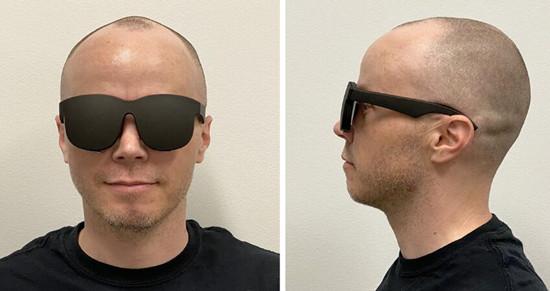 Facebook超薄VR概念眼镜被曝光  外观像墨镜