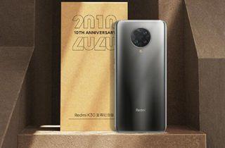 红米手机发布Redmi K30至尊纪念版复刻版礼盒