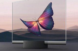 小米大师OLED透明电视开售 售价49999元