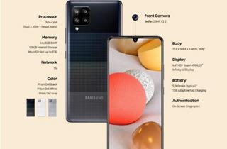 三星Galaxy A42 5G发布 售价349英镑