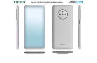OPPO屏下摄像头手机专利公布 真全面屏设计