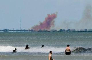 """SpaceX否认飞船爆炸 称是""""异常情况"""""""