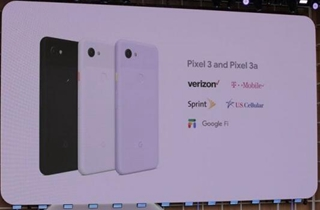 谷歌推出Pixel 3a:售价399美元