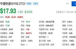 中通快递发布2019年第一季度未经审计财报 营收45.74亿元人民币