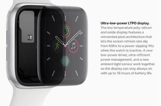 传iPhone即将用上Apple Watch的LTPO面板工艺