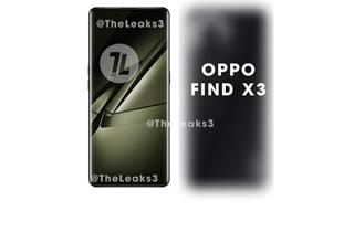 OPPO Find X3渲染图曝光 搭载骁龙888芯片