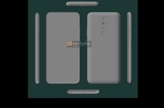 诺基亚4.3渲染图曝光 采用6.5英寸平板水滴屏