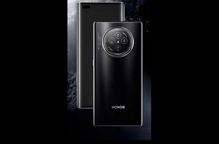 """榮耀 V40渲染圖曝光 后置相機模組采用 """"奧利奧""""式圓形設計"""