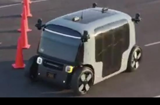 亚马逊旗下自动驾驶公司Zoox公布新款无人驾驶汽车
