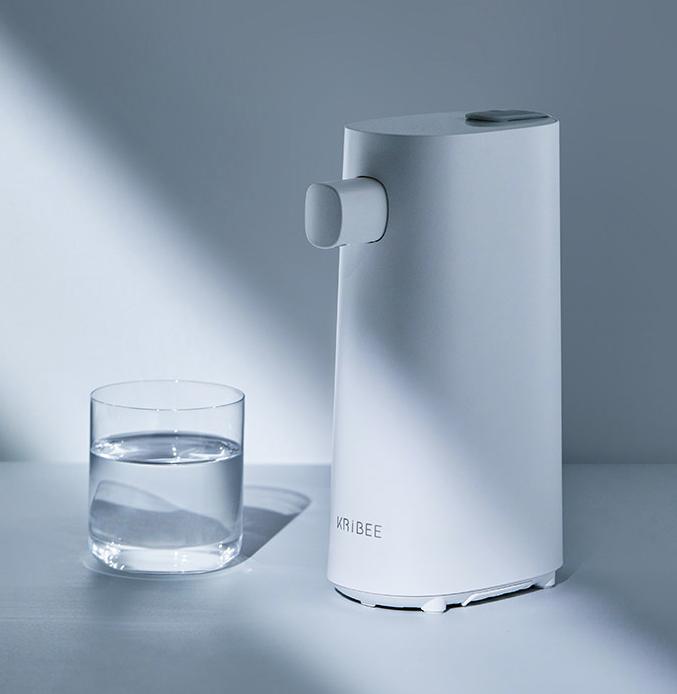 Kribee库比便携即热饮水机刷新饮水方式,随时随地畅饮无拘束