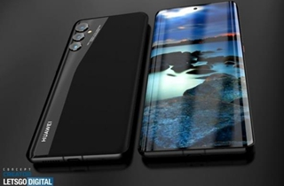 华为P50 Pro高清渲染图曝光 采用单孔居中设计