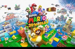 任天堂正式发布《超级马里奥3D世界》 将支持中文