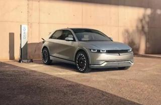 现代汽车纯电动中型CUV IONIQ 5全球首发 最大续航里程达600km