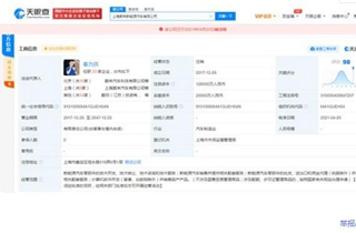 上海蔚来新能源汽车有限公司注销