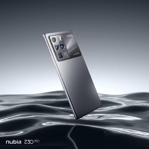努比亚Z30 Pro真机外观确认  超大后置相机模组