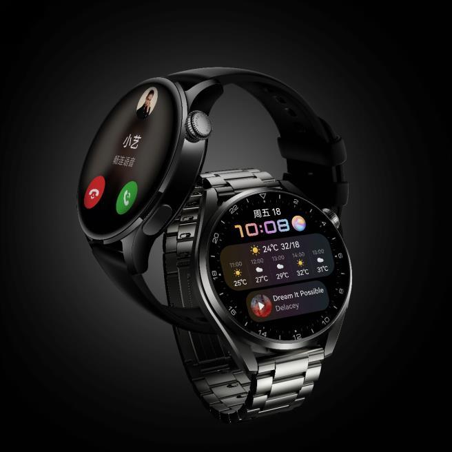售价2599元起,搭载HarmonyOS的华为WATCH 3旗舰系列发布