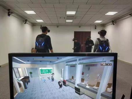 赋能应急救援培训,瑞立视大空间VR助力急救培训科技化升级