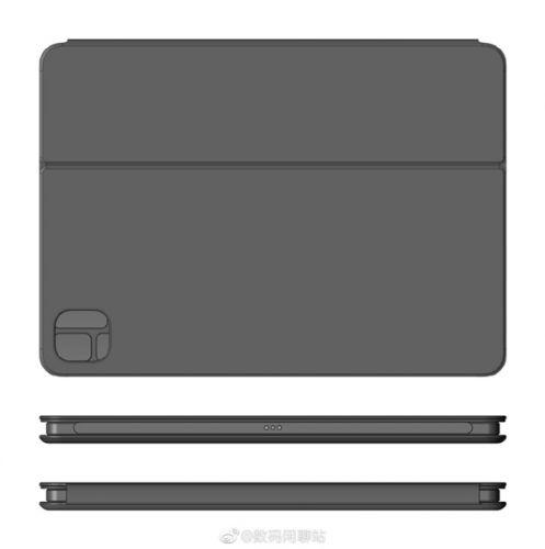 小米平板5官方键盘配件泄密:配备手写笔卡槽