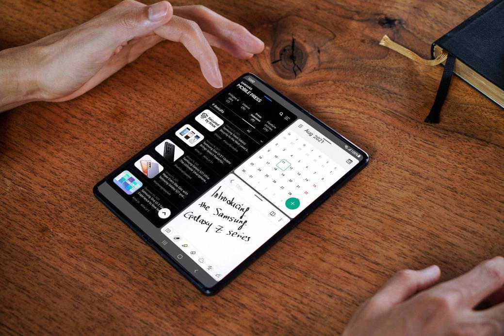 生产力手机哪家强 当属三星Galaxy Z Fold3 5G折叠屏手机