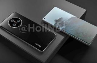 Redmi K50渲染图曝光 采用开孔全面屏设计